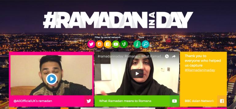 Ramadan in a Day website